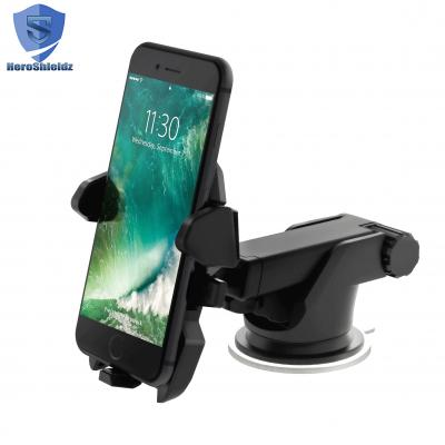 HeroShieldz Easy One Touch 2 Car Mount Holder for iPhone 7s 6s Plus