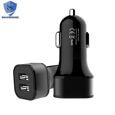 Heroshieldz Dual-Port USB Car Charger Car Adapter