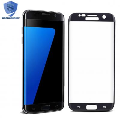 Heroshieldz S7 EDGE 3D Curved Edge Tempered Glass